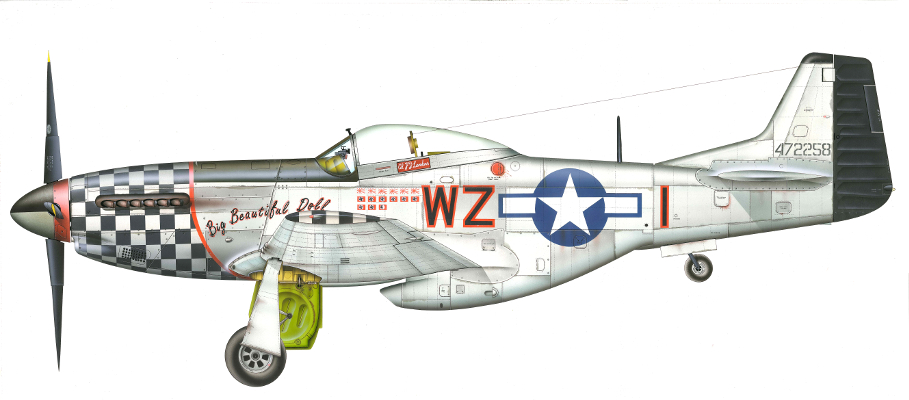 North American P-51D Mustang | Guillermo Coll