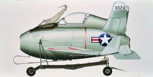 Mc Donnell XF-85 Goblin | Guillermo Coll