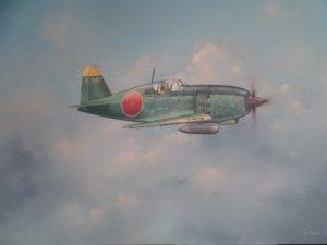 Jun Mitsubishi J2M3 Raiden | Guillermo Coll