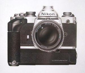 Ilustración Nikon | Guillermo Coll