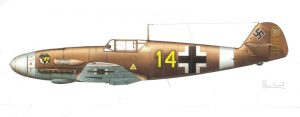 MESSERSCHMITT Bf.109F-2z/Trop | Guillermo Coll