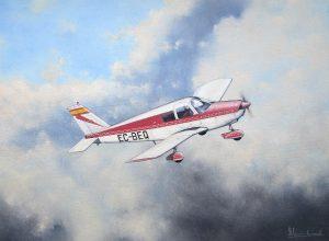 PIPER PA-28-180 Cherokee C | Guillermo Coll
