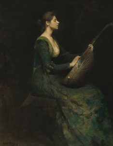 Thomas Wilmer Dewing painting