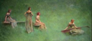 Thomas Wilmer Dewing | Guillermo Coll