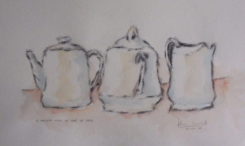 El pequeño juego de café de Sara | Guillermo Coll
