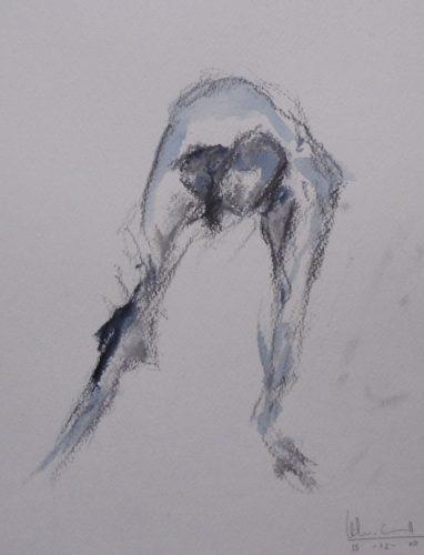 Apunte de desnudo 5 (naked body) | Guillermo Coll